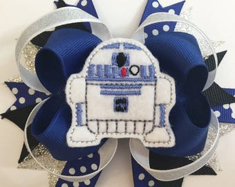Loopy Robot Hairbow