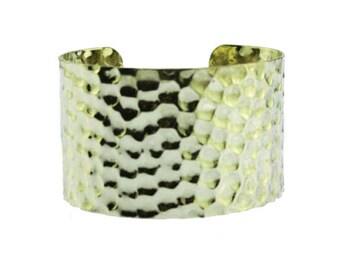Chunky Gold Cuff Bracelet, Chunky Cuff Bracelet, Wide Gold Cuff Bracelet, Wide Gold Bracelet