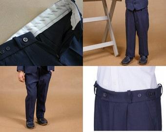 Boy suit trousers Boy pants Toddler ring bearer Boy outfit Black boy trousers Boy wedding outfit Baby boy pants Black boy trousers