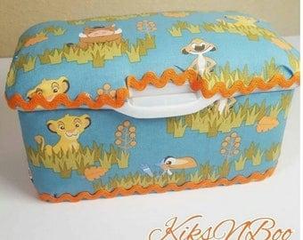 Lion Nursery Wipes Case / Lion bedroom large wipes case / Lion Nursery Decor / Baby Shower Gift / Baby Wipes Case / Diapers Wipes Case