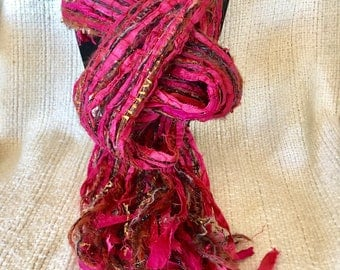 Sari Silk Ribbon Scarf