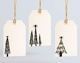 Holiday Gift Tags Variety Pack - Christmas Tags - Christmas Gift Tags - Christmas Tree Tag - Tree Tag - Holiday Tag - Blank Gift Tag