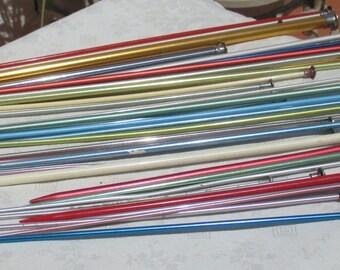 Lot Of Vintage Single Knitting Needles