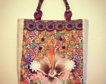Dance flower bag