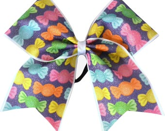 Candy Sweet Tooth Cheer Bow