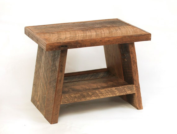 Reclaimed Wood Step Stool Children S Step Stool