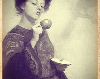 Violet Moon Madame's Tea Leaf Reading