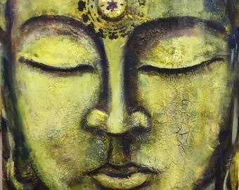 Illuminated Buddha