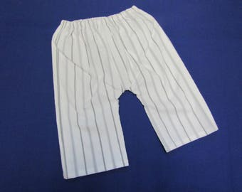 TROUSERS * Simple pull up trews * 3 - 6 mths