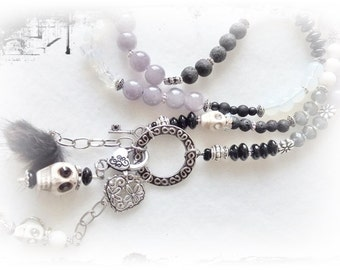 Chain, skull