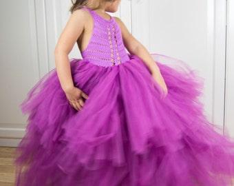 Custom  tutu gown.