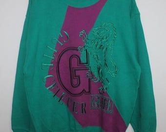 Vintage Guite Celever Sweatshirt Emroidered