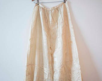 1890's Edwardian Skirt || White Victorian || 1910 Vintage