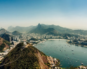 Rio de Janiero Brazil Aerial Photo || Fine Art Photography