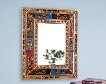 Sale 15 off red large decorative wall mirror by for Decorative wall mirrors for sale