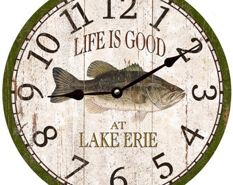 Fish Clock- Personalized Fish Clock