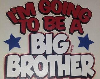 I'm the Big Brother shirt, brother shirts, sibling shirt