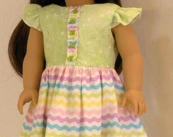 Spring/Summer Dress for 18 inch Dolls