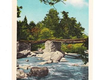 Bat Cave North Carolina Vintage Postcard (unused)