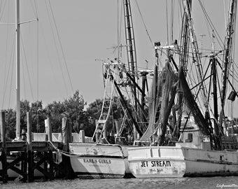 Canvas Print - Vintage Boats