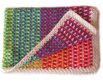Baby Sunshine Blanket Crochet Pattern WM2066