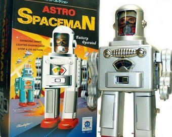 Astro Spaceman Robot Battery Operated