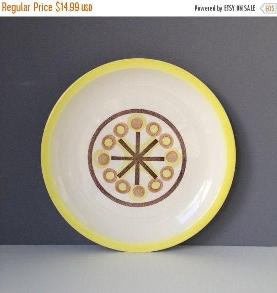 ON SALE Ironstone Pinwheel Serving Plate or Platter, Vintage Tableware