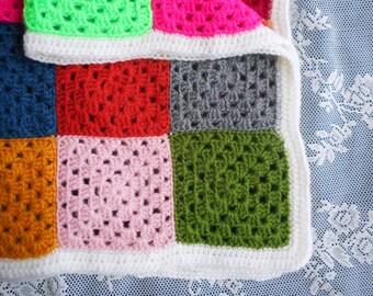 Granny's Best, crochet bedspread