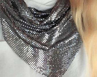 Metal mesh bandana