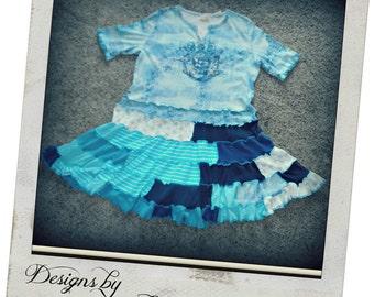 Bohemian Short  XL Dress/Long Shirt