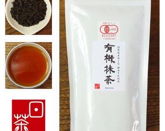 Ocha & Co. Japanese Organic  Loose Leaf Black Tea  100g 3.5oz Free Shipping