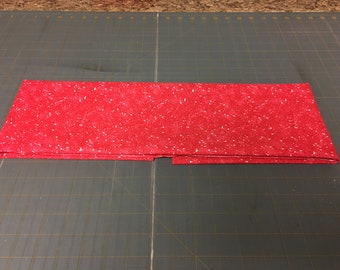 Red splitter splatter Fabric by the yard