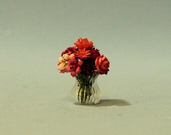 1/2 inch scale miniature-Floral arrangement