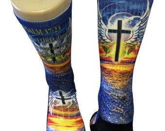 Custom PSALM SS Athletic Socks