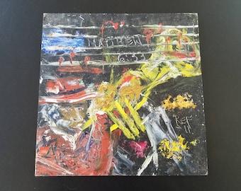 Outsider Art Jazz Painting