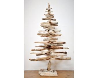 Albero di Natale con legni di mare - Driftwood Christmas Tree - 71 cm