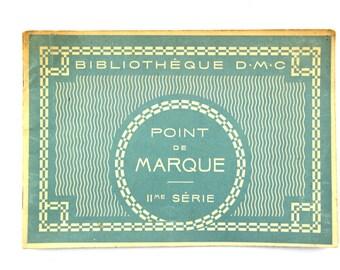 Vintage DMC cross stitch, original edition Th de Dillmont booklet