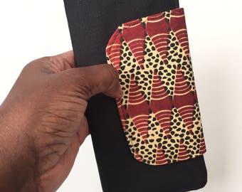 thin wallet, minimalist wallet, cute wallets women, womens wallet, bifold wallet, slim wallet, credit card wallet, ankara african wallet