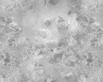 108 inch Light Grey Cosmos Half Yard Wide Backing Quilt Fabric