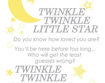 Twinkle Twinkle Little Star- CUSTOM