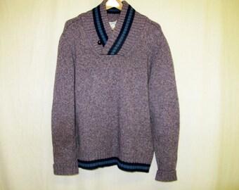1970s Slouchy Sweater Boyfriend Sweater Nordic Sweater Sierra Designs Sweater
