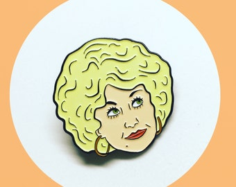 Dolly Parton, Doralee Rhodes, 9 to 5 Enamel Pin