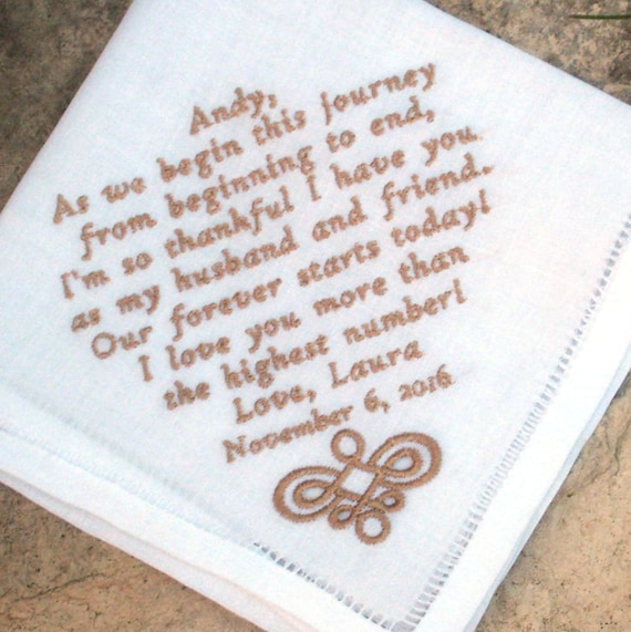 Wedding Gifts For Groomsmen Ireland : MENS WEDDING HANDKERCHIEF, Irish Linen, Groom, Father of Bride/Groom ...