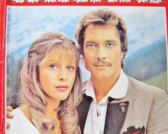 Time for MOUNTAIN ROMANCE, 3 hot Alpine Love Stories in one Bastei Roman Magazine, 1980's