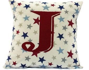 Initial Cushion, Personalised, Monogram Cushion, Typography Cushion, Throw Cushion, Throw Pillow, Cushion