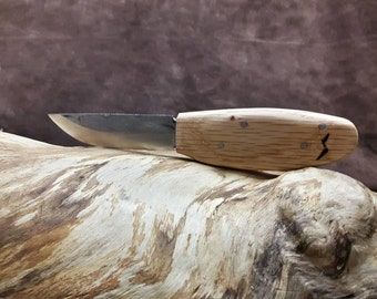 The Cub Carbon Blade | Carbon Steel Bushcraft Knife