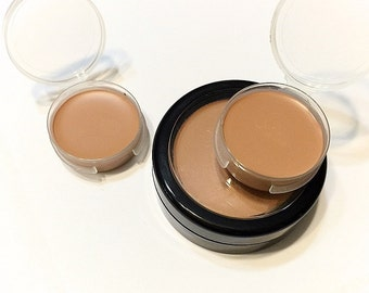 TOFFEE Perfecting Cream Foundation - Creamy Foundation Concealer Makeup - Gluten Free Vegan
