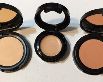 Vegan Organic Concealer Cream - Botanical Creamy Makeup - Natural Foundation - Vegan Plant Makeup