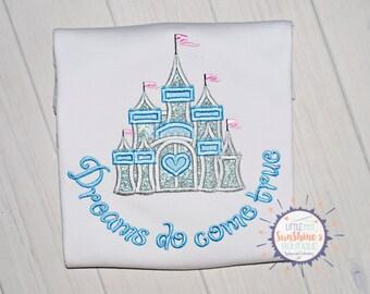 Dreams do come true, Princess castle Shirt, Princess Shirt