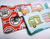 Coin Purse : Happy Campers &  VW